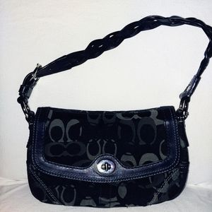 Coach Small Turnlock Shoulder purse